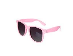 Lyserøde Wayfarer solbrille
