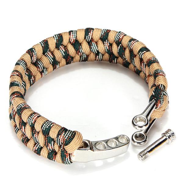 Sandfarvet armbånd. 1