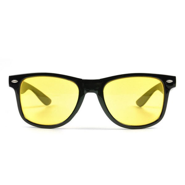 Wayfarer natkørebrille. 2
