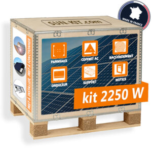 kit solaire six panneaux francais