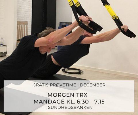 TRX: sjov og effektiv træning med egen kropsvægt