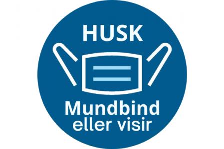 Mundbind/Visir i SundhedsBanken