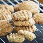 Whole wheat, coconut and orange cookies (eggless recipe)