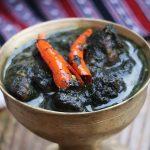 Til diya kukura mangxo / Assamese style chicken curry with sesame seeds