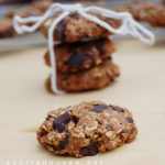 Oats, chocolate and ginger cookies l Eggless cookies