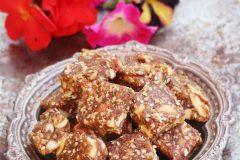 Dates, figs and nuts burfi ( no added sugar)