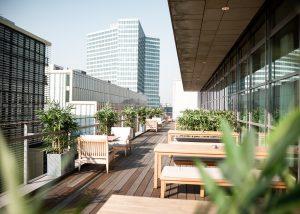 Hamburg Dachterrasse