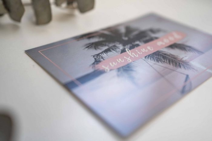 Malediven Postkarte