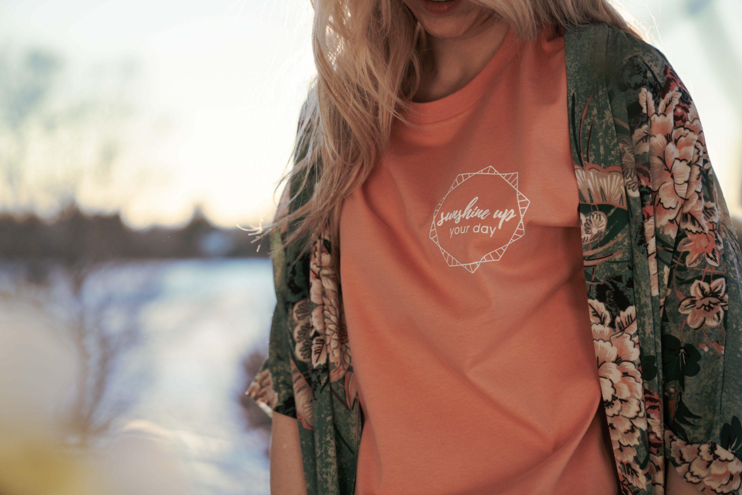 T-Shirt aus 100% Bio-Baumwolle