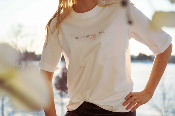 Bio T-Shirt mit Spruch