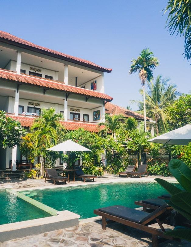 Family House Hotel in Kuta, South Lombok