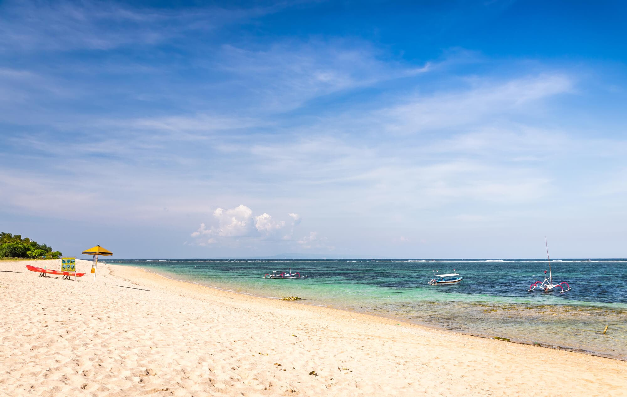 Where to stay in Bali: A complete guide to the different areas on the island - Nusa Dua Beach