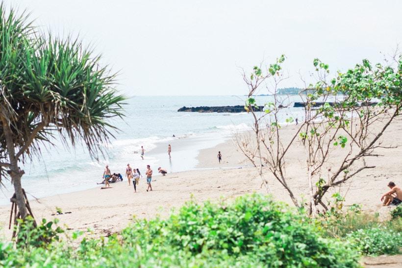 Batu Bolong Beach Bali