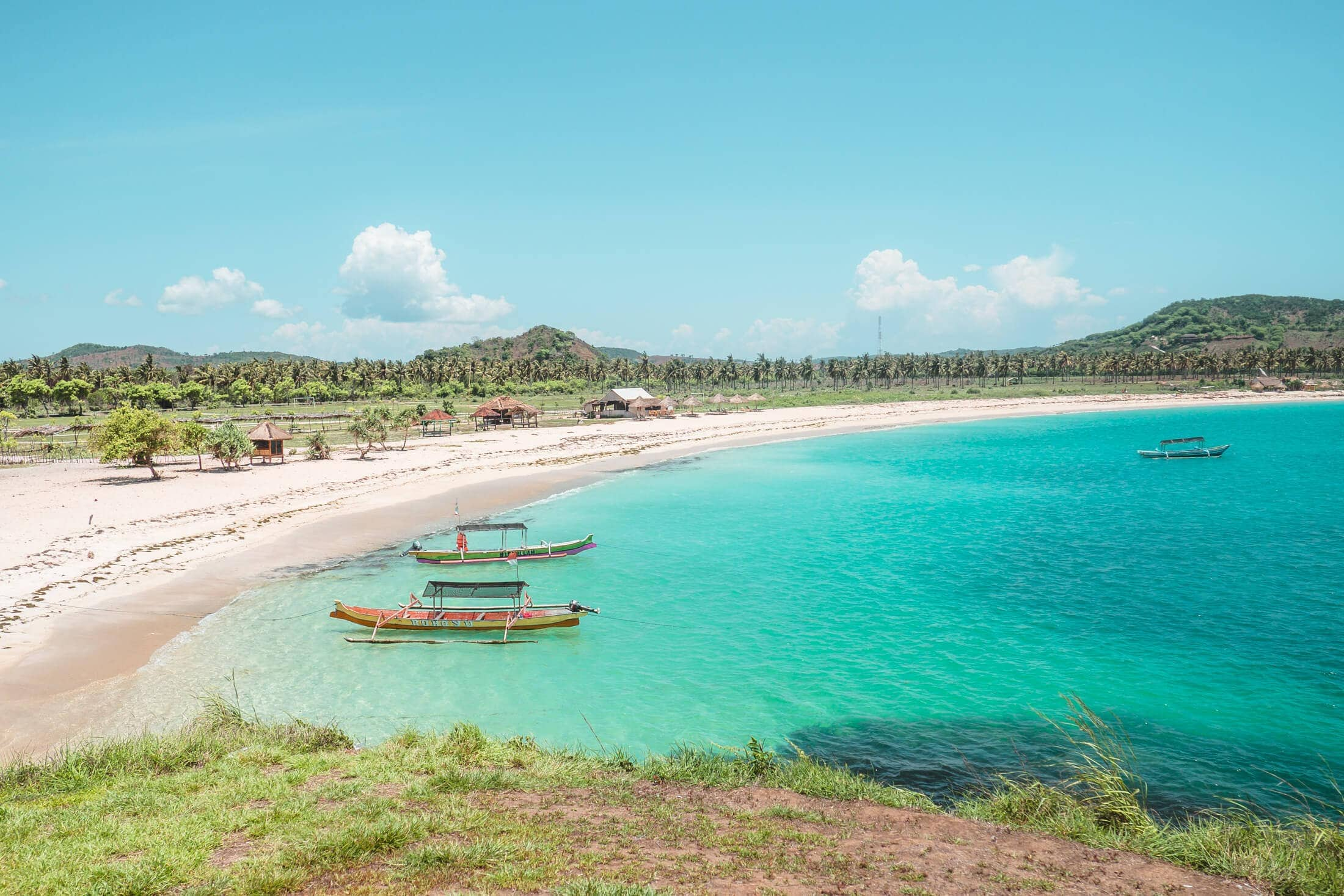 Tanjung Aan the best beach in Lombok