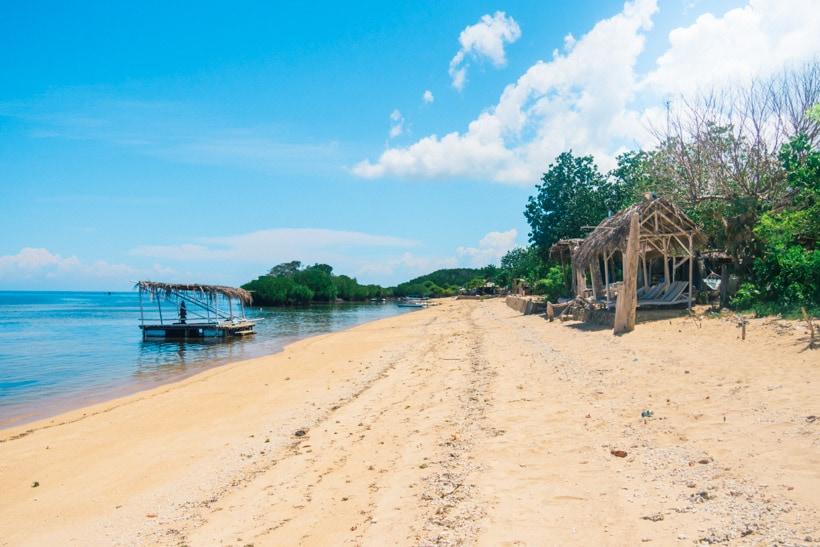 Mangrove Forest Beach Nusa Lembongan