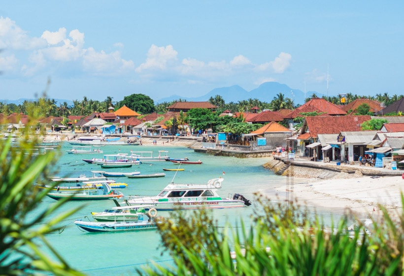 Nusa Lembongan Island, Paradise right off the coast of Bali