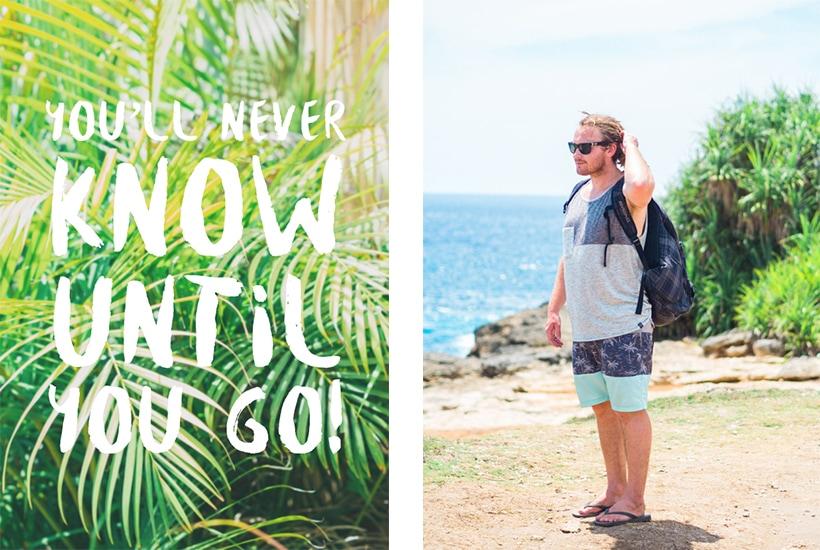 Nusa Lembongan Travel Quote Wanderlust