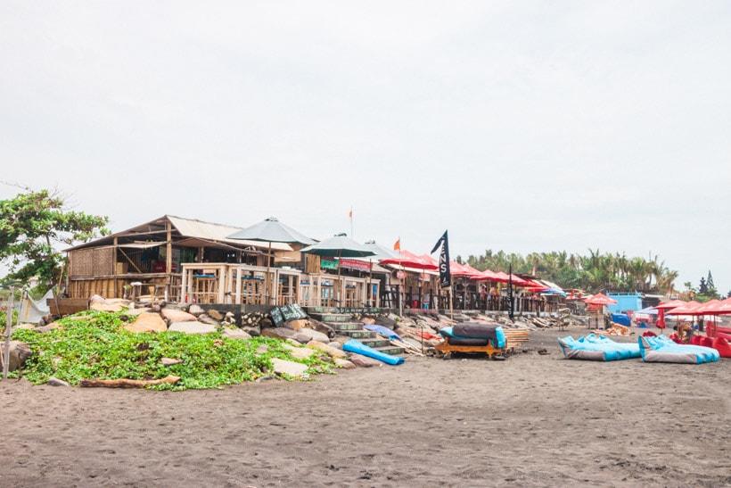 Warungs at Echo Beach Canggu Bali