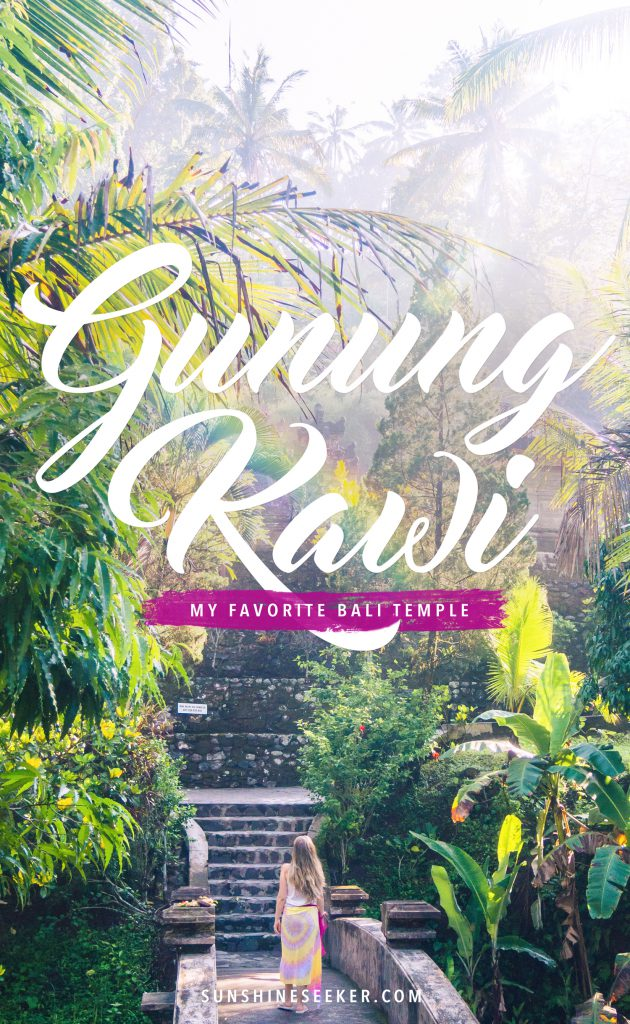 Gunung Kawi - My favorite temple in all of Bali