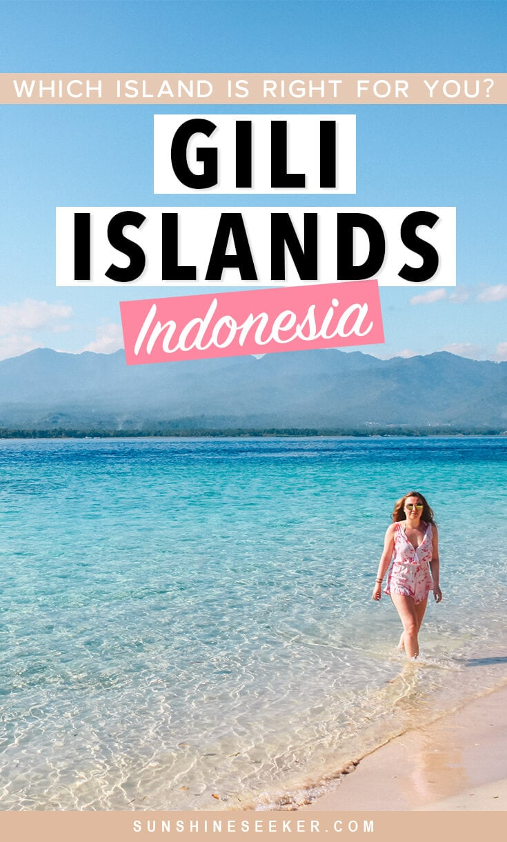 Click through for a first-timer's guide to the Gili Islands. Which of the three Gili Islands should you choose for your holiday? Everything you need to know about where to stay, where to eat and what to do on Gili T, Gili Air and Gili Meno