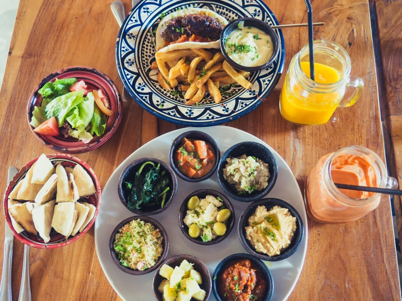 How to experience the incredible south coast of Lombok on a budget - Mediterranean Restaurant