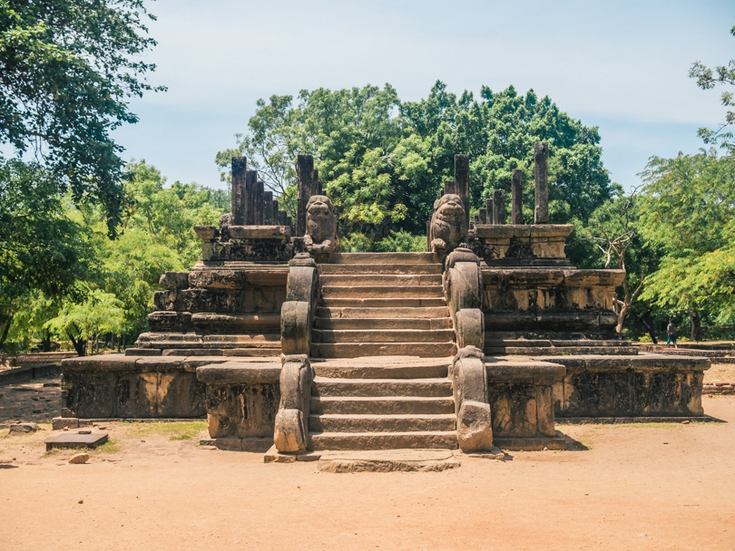 The incredible ancient city of Polonnaruwa - A must visit while in Sri Lanka - The Audience Hall