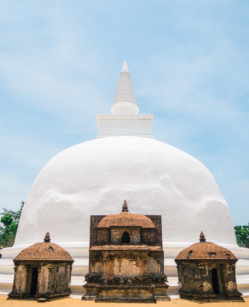 The incredible ancient city of Polonnaruwa - A must visit while in Sri Lanka - Dagoba Kiri Vihara