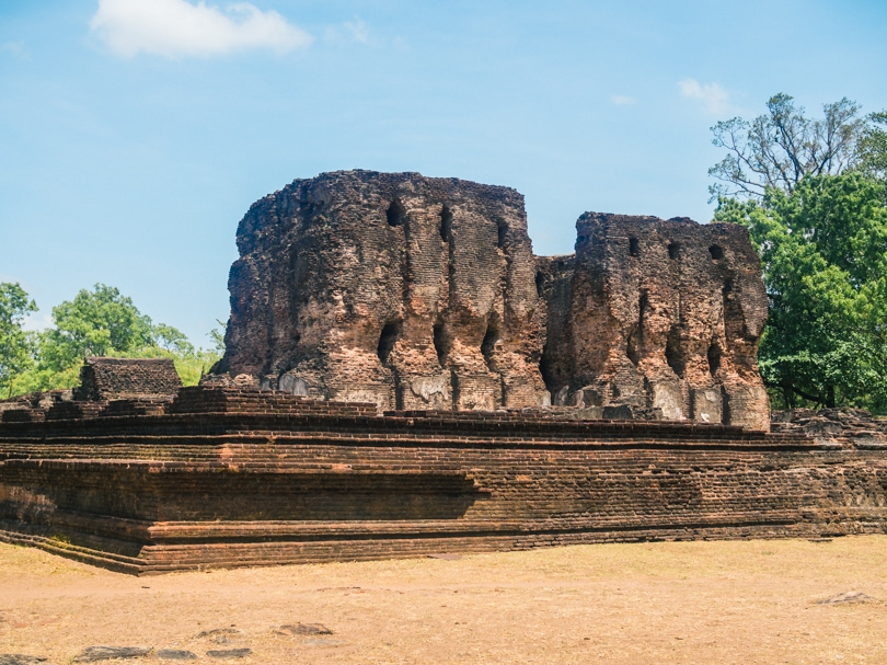 The incredible ancient city of Polonnaruwa - A must visit while in Sri Lanka - The royal Palace
