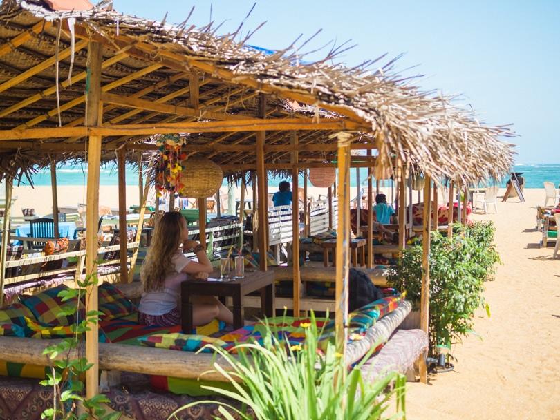 The top 5 best Unawatuna restaurants - Catamaran at the beach