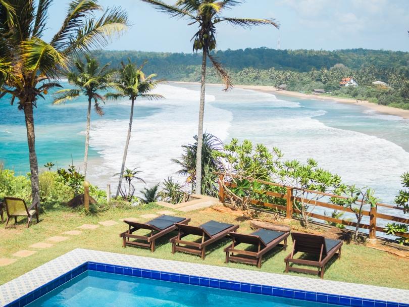 Talalla Beach, Sri Lanka - Hotel Panorama view