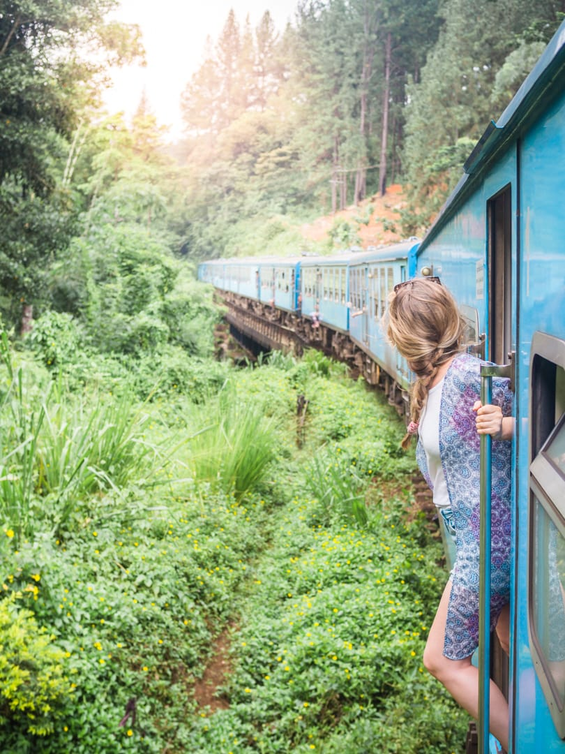The ultimate two week Sri Lanka itinerary - Kandy to Ella train