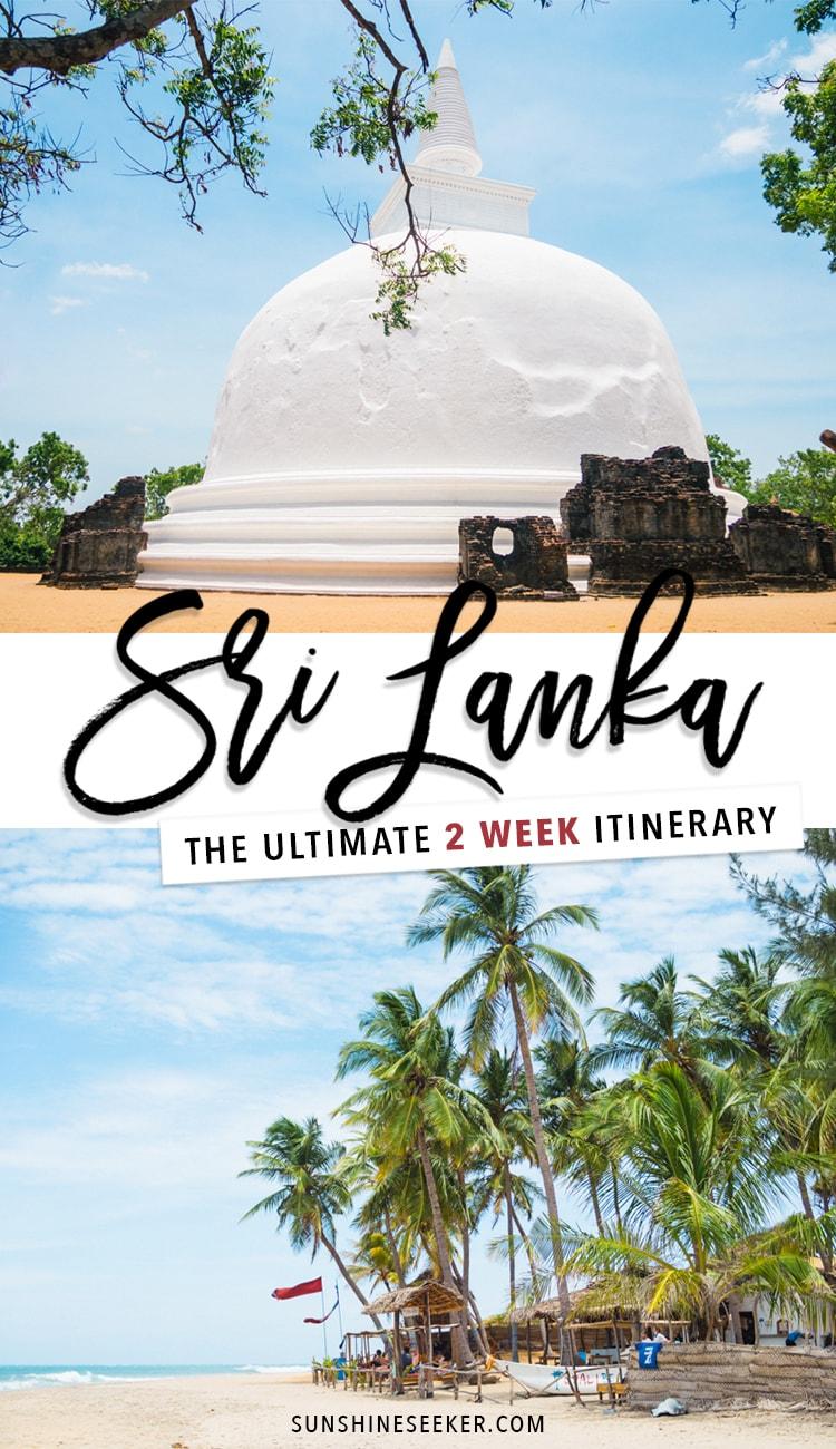 The ultimate two week Sri Lanka itinerary