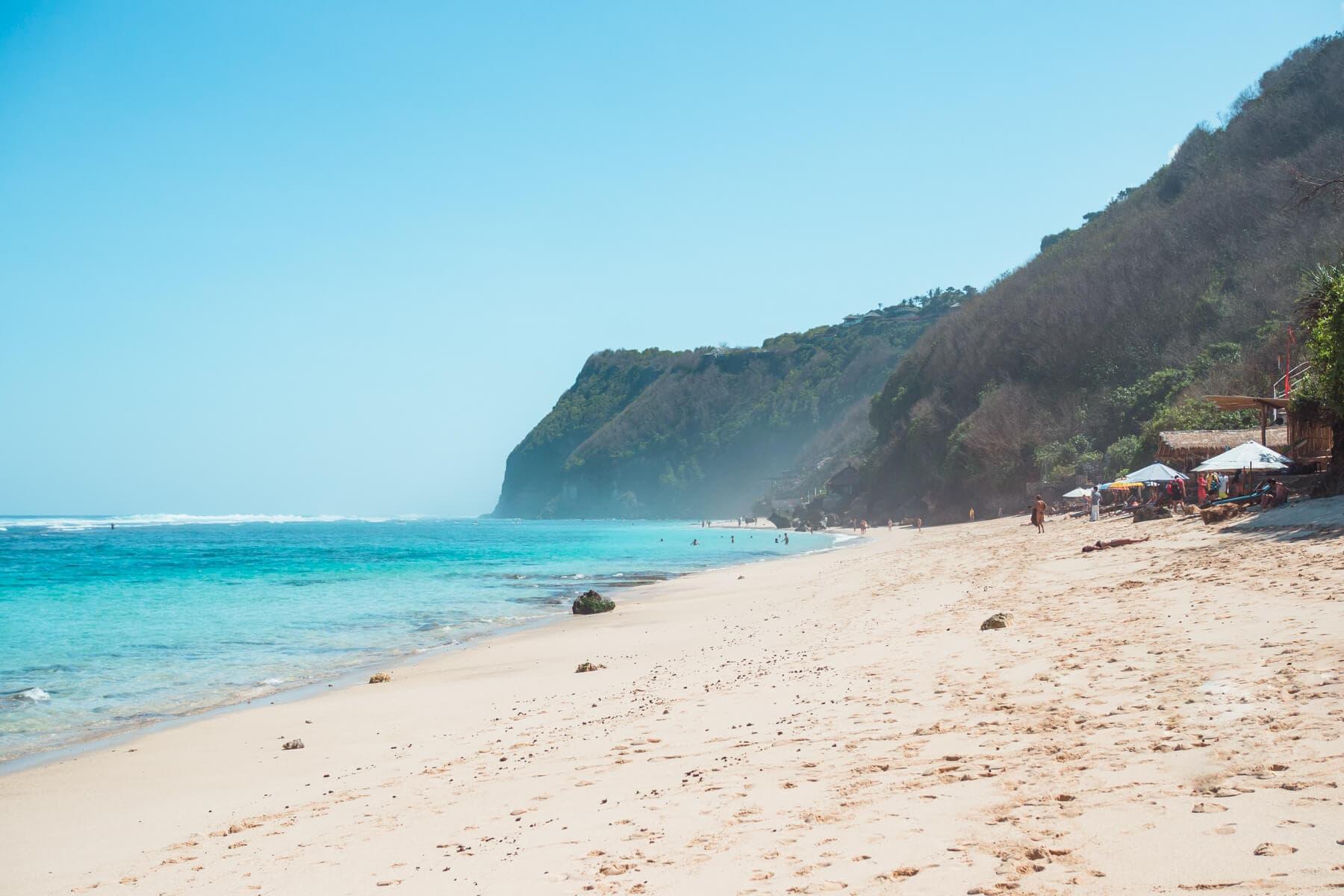 The top 5 best beaches in Bali Indonesia - Melasti