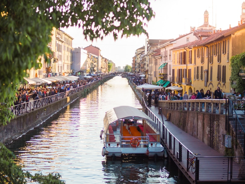 A quick weekend guide to Milan, Italy - Navigli Canals
