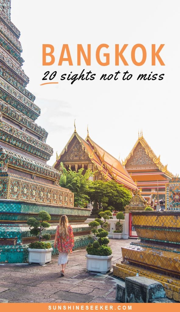 Top 20 awesome things to do in Bangkok, Thailand. From stunning temples to bustling markets - Here are 20 reasons why you should add Bangkok to your bucket list #thailand #bangkok #watarun #bucketlist #travelinspo