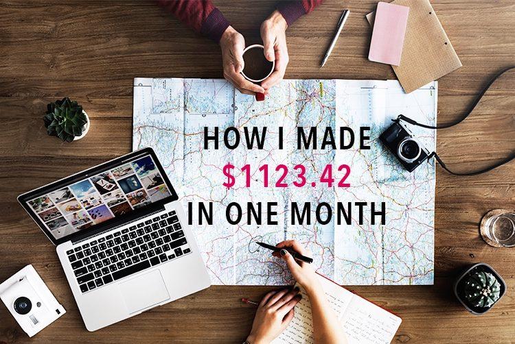 Travel blog income report September 2017 + tips for beginners