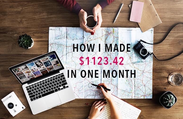 Travel blog income report September 2017 - Blogging tips for beginners