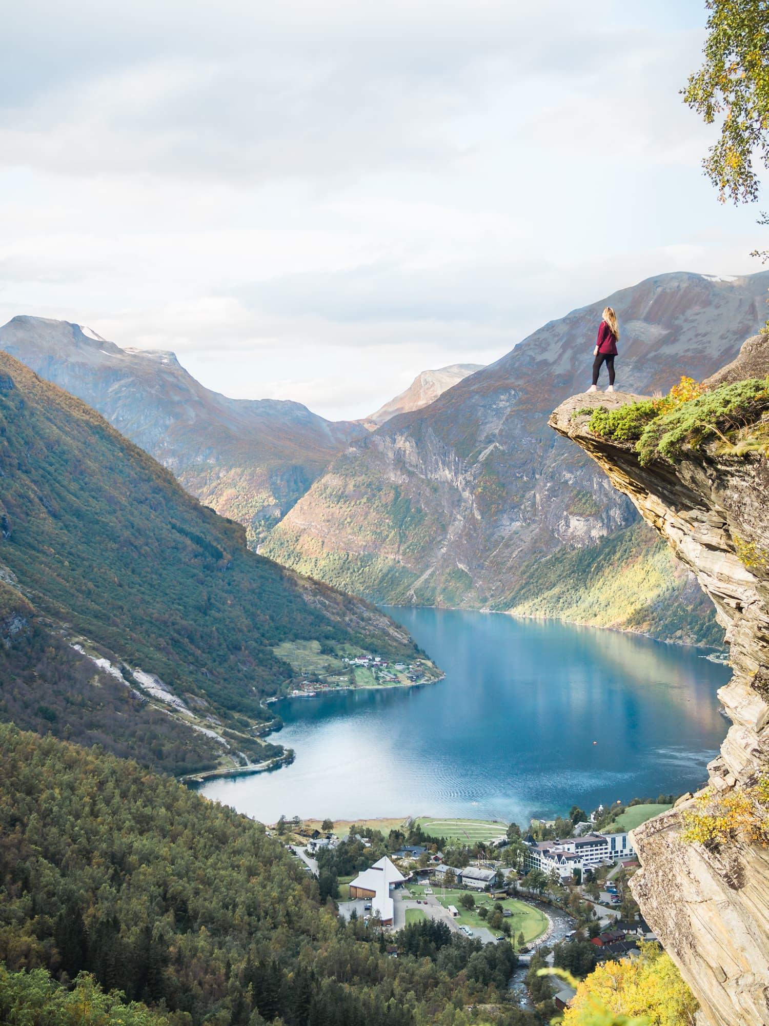 Geirangerfjorden in Norway - Favorite Instagram, photos 2017