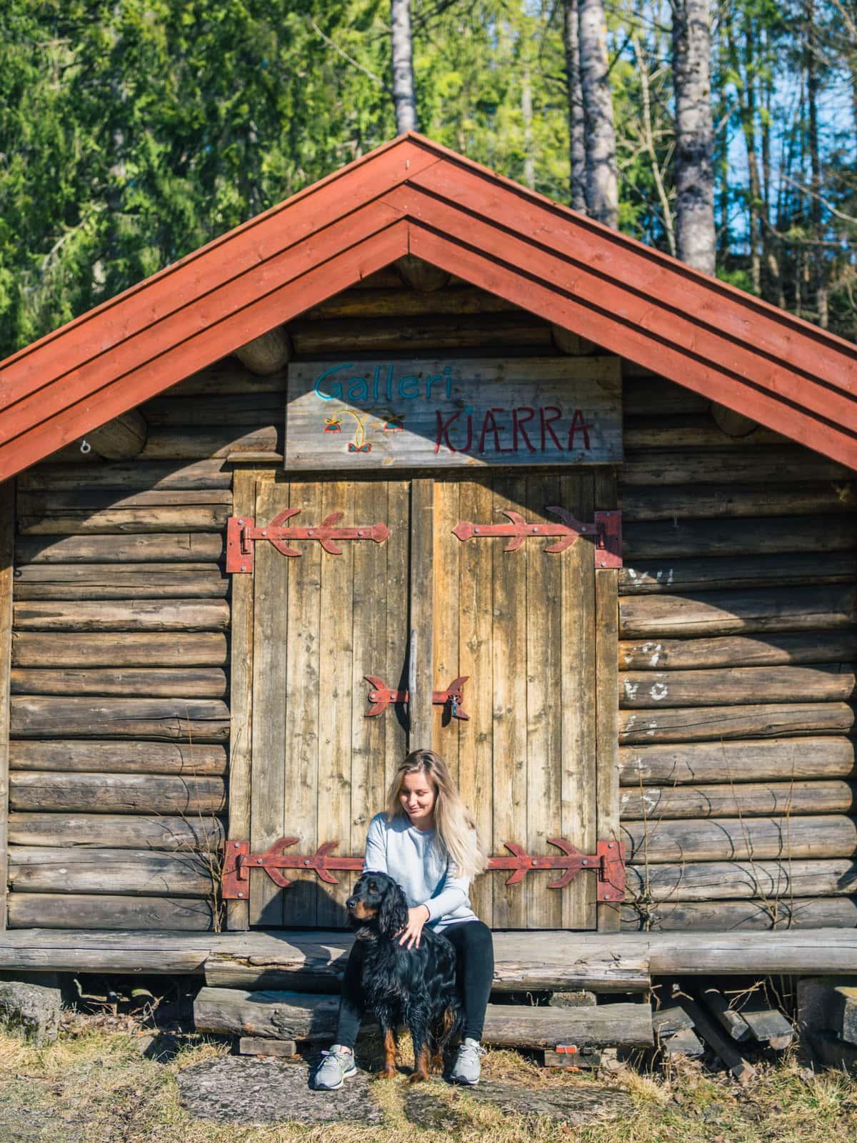 Kjærrafossen in Vestfold Norway - Favorite photos 2017 travel blogger