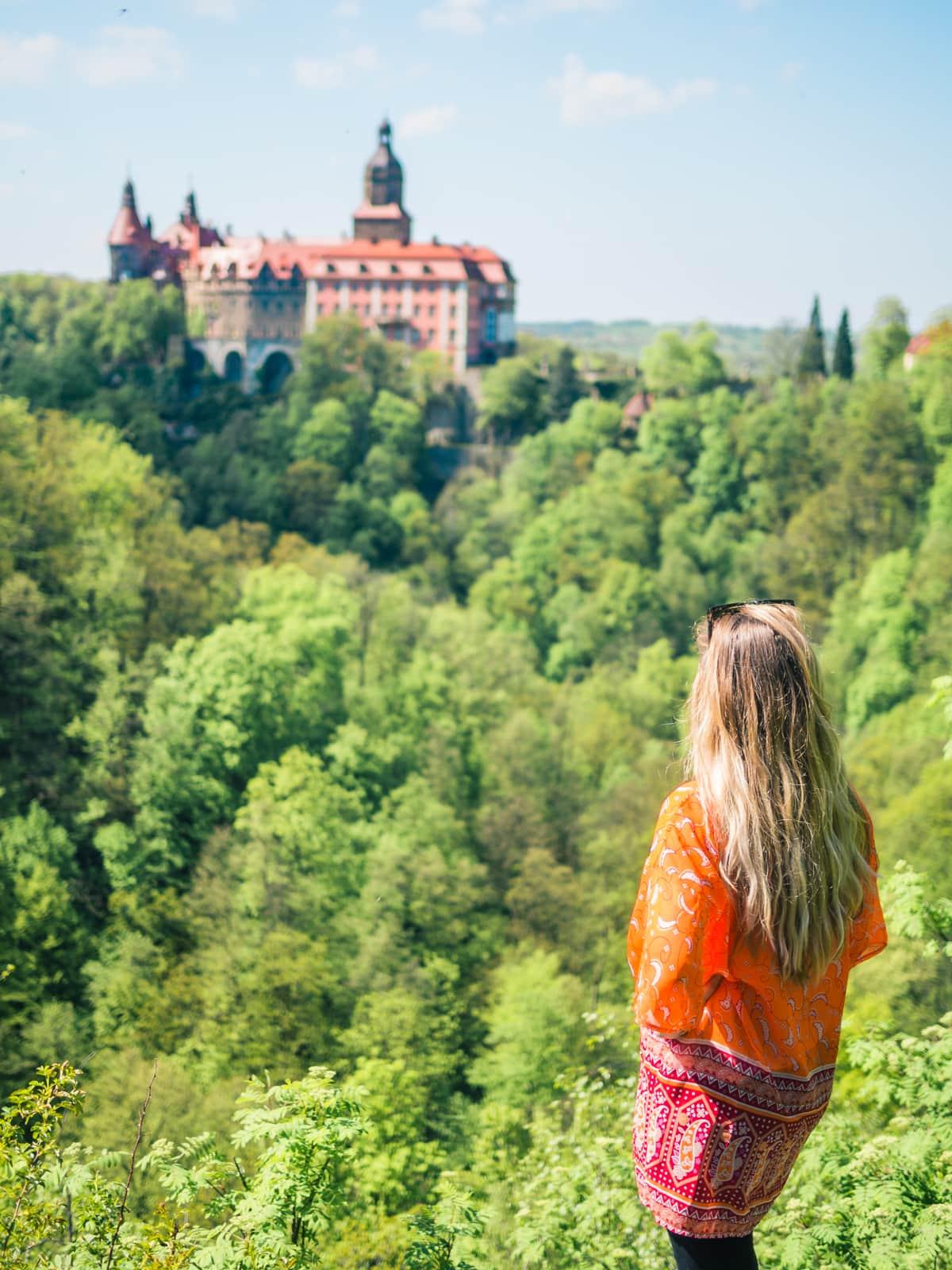 The beautiful Książ Castle in Poland - Travel blogger favorites