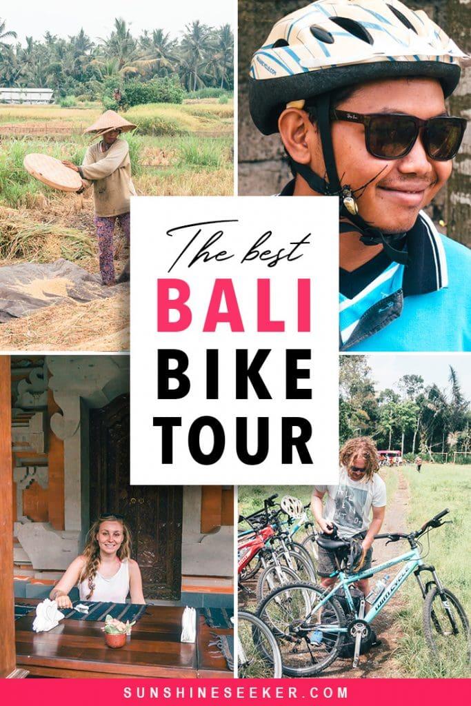 Jegeg Bali Cycling - The best bike tour in Ubud, Bali #bucketlist #bali #ubud #traveltips #travelinspiration