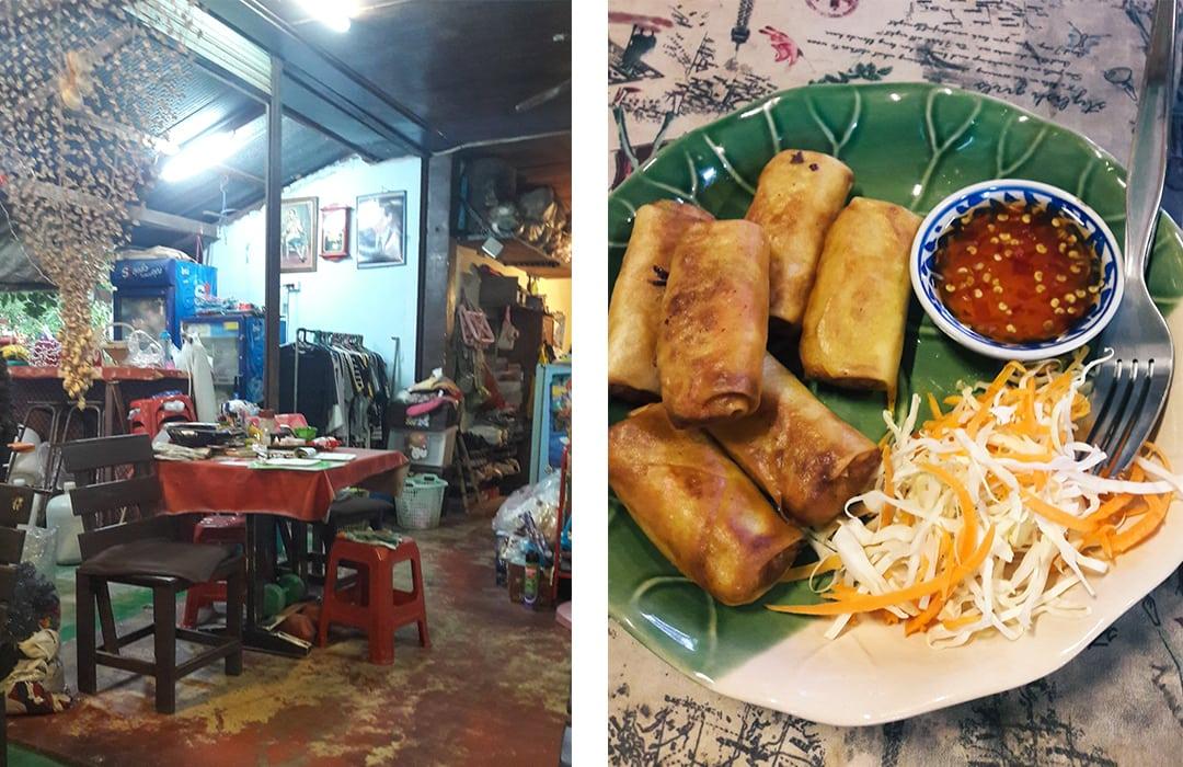 Koh Samet, Thailand - Banana Bar best restaurant