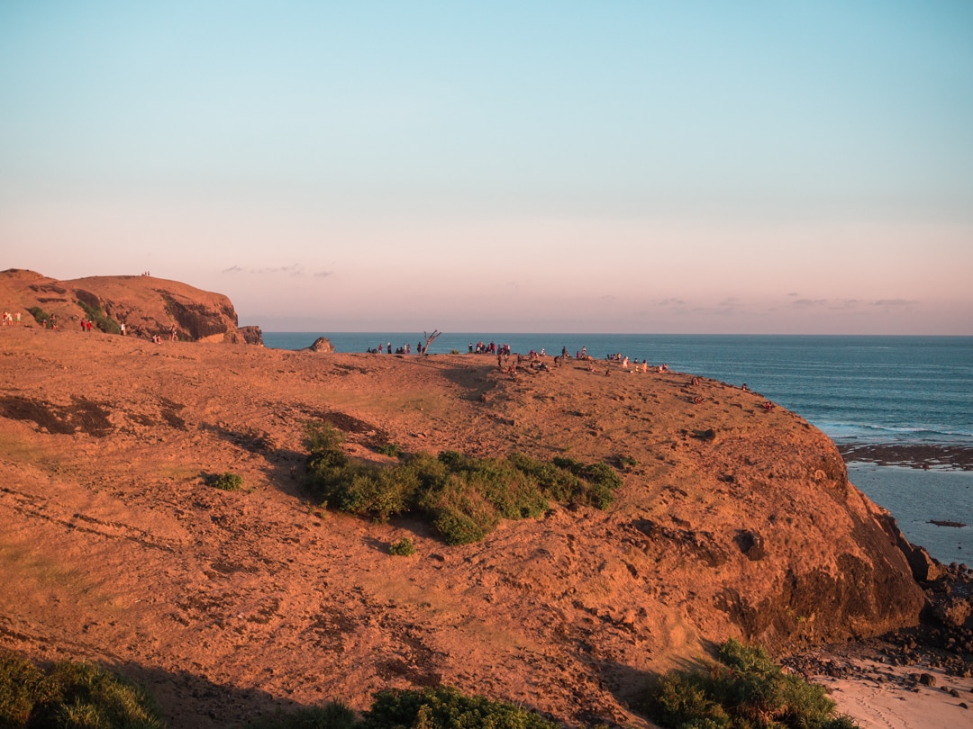 Bukit Merese - The best place to watch the sunset in southern Lombok, Indonesia
