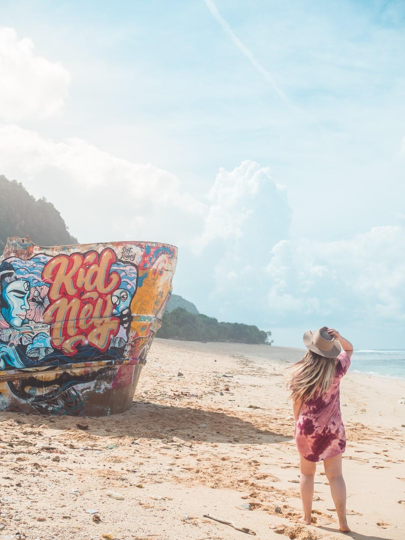 "How to find Nunggalan ""Shipwreck"" Beach - A hidden beach paradise in Uluwatu, Bali"