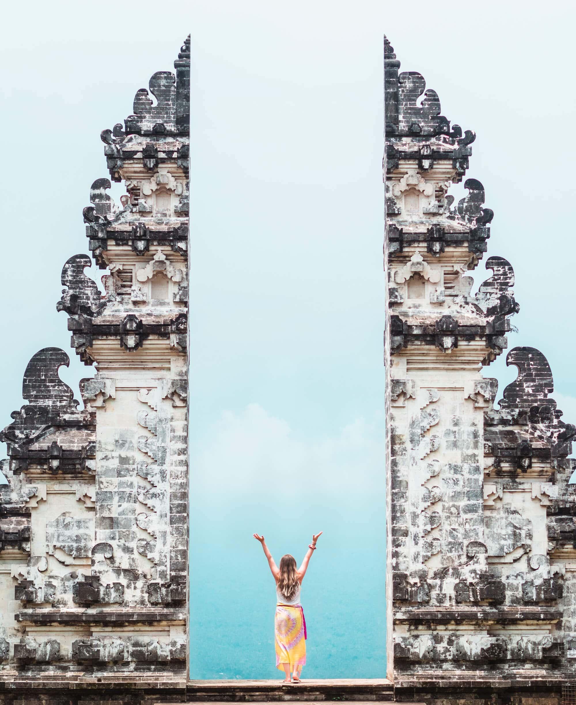 Gates to Heaven at Pura Lempuyang temple in East Bali - The ultimate Bali Bucket List 2018