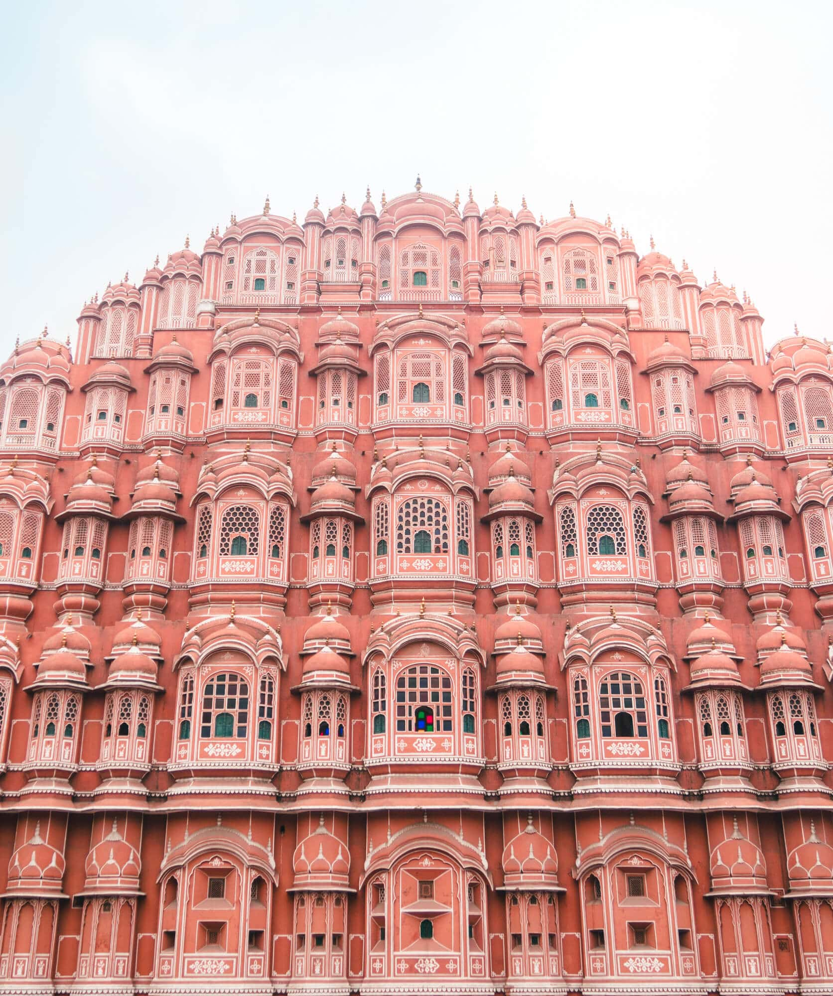 How to spend 2 days in Jaipur - Hawa Mahal in the Pink City