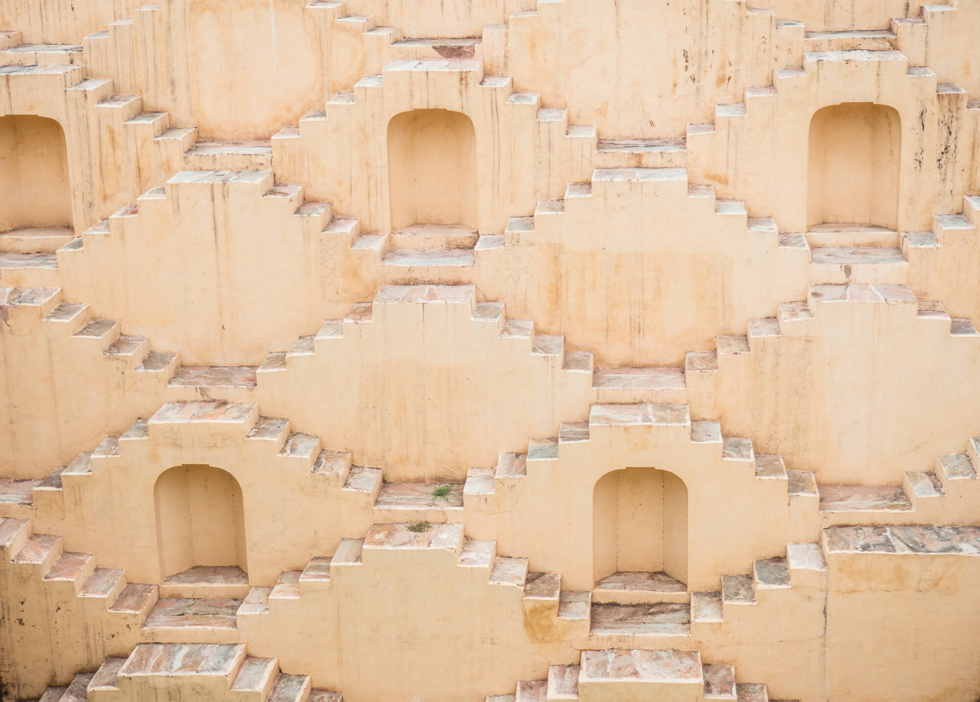 How to spend 2 days in Jaipur - Panna Meena ka Kund stepwell