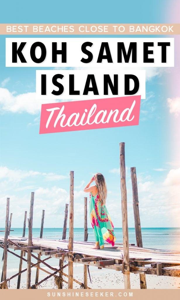 A guide to Koh Samet Island - The best beach getaway from Bangkok