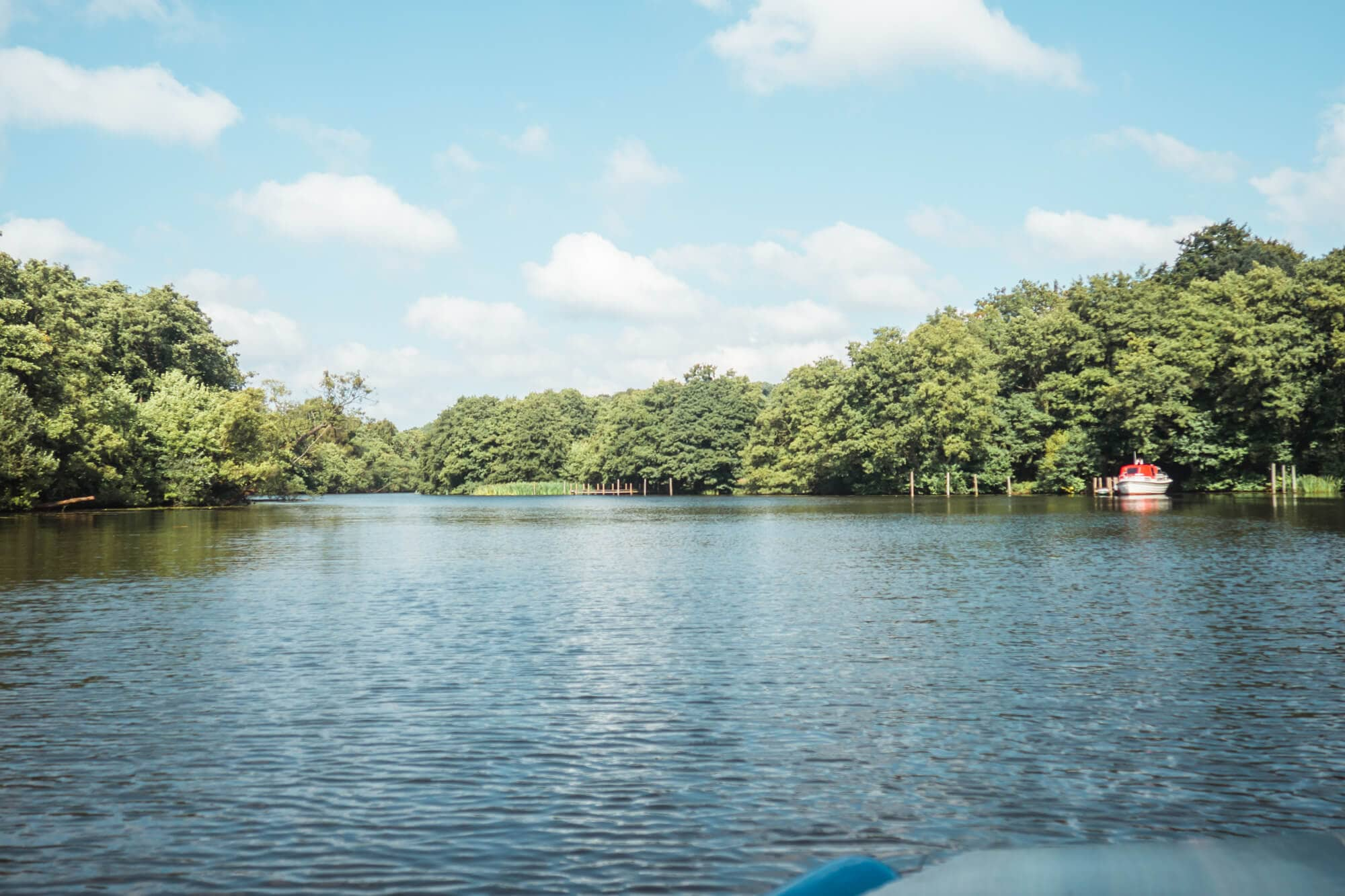 3 awesome day trips from Aarhus - Solar powered boat trip to Himmelbjerget in Skanderborg
