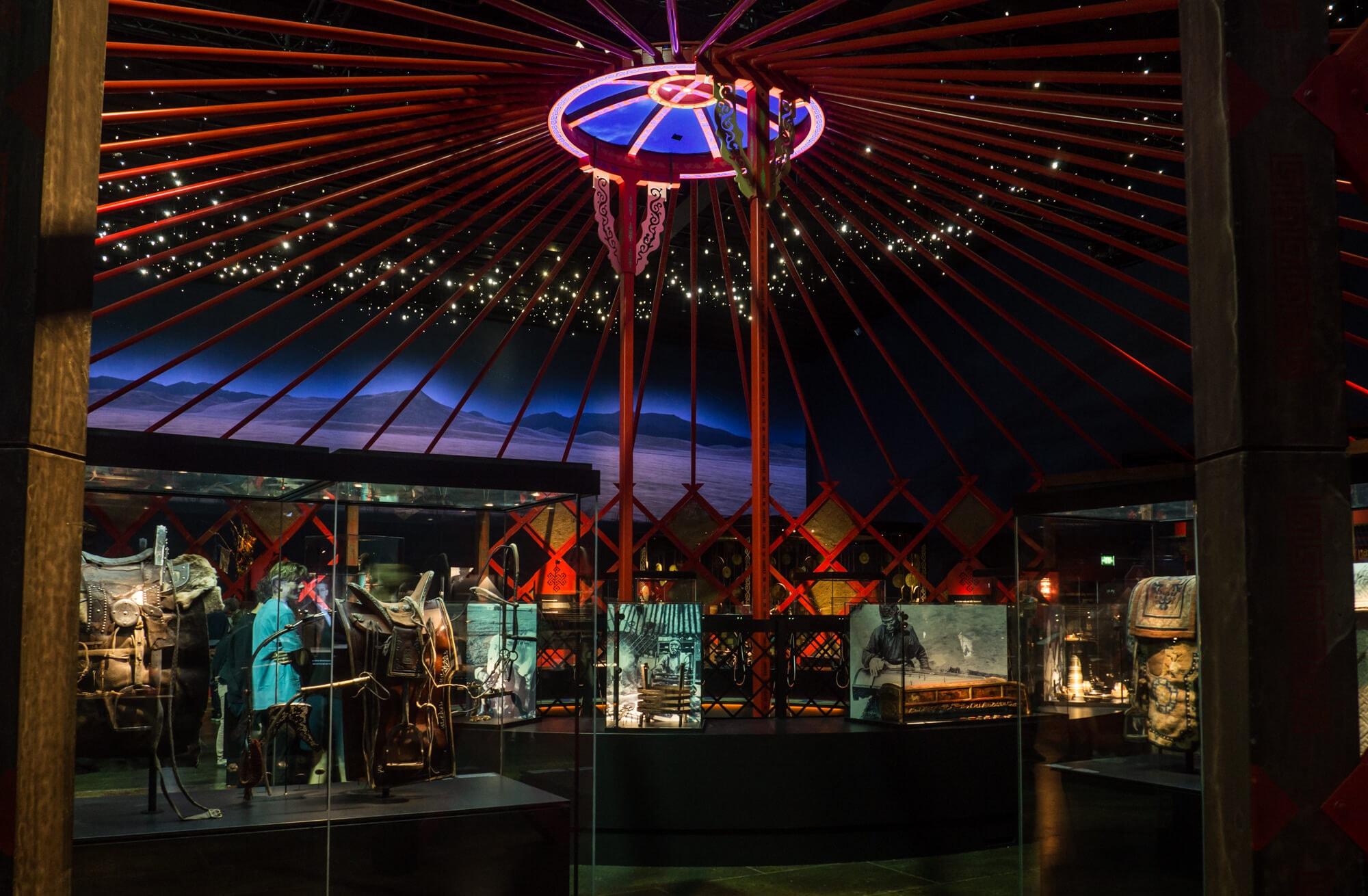 Two days in Aarhus - Denmark's happiest city. Moesgaard Museum - Djengis Khan exhibition